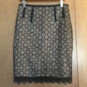 Gorgeous BCBGMaxAzria Silk Skirt
